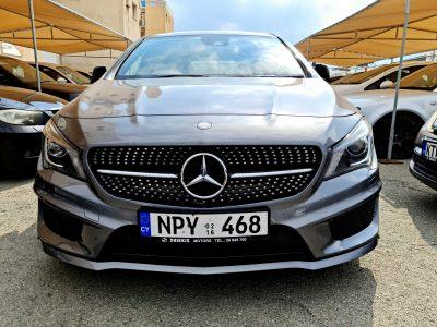 Mercedes-Benz CLA220d AMG Line 7G-DCT 4MATIC (s/s) 4dr