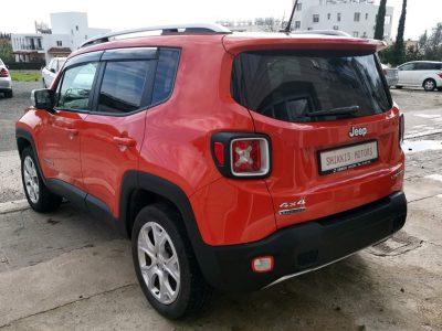 Jeep Renegade 2.0 Diesel Limited 4×4 9 Speed Automatic 5dr  FULL EXTRA Pack with Panoramic sunroof